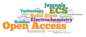ECS Open Access Word Cloud