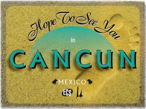 ECS Cancun e-postcard front