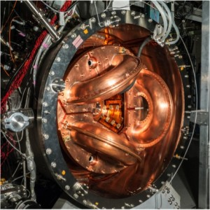 The reactor uses a tokamak design, which is a giant torus surrounded on the sides and in the core by superconducting magnets generating tremendous energy.Credit: University of Washington