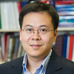 ECS member Jiaxing Huang used freshman-level chemistry to solve the solubility mystery of graphene oxide films.Image: Northwestern University