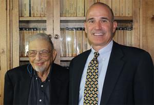 Dr. Alvin Salkin with Roque Calvo