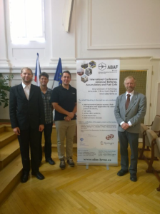 The Brno Chapter's participants at the 16th ABAF meeting.