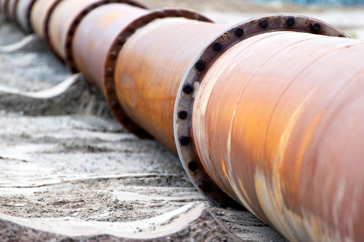 Corroded pipelines
