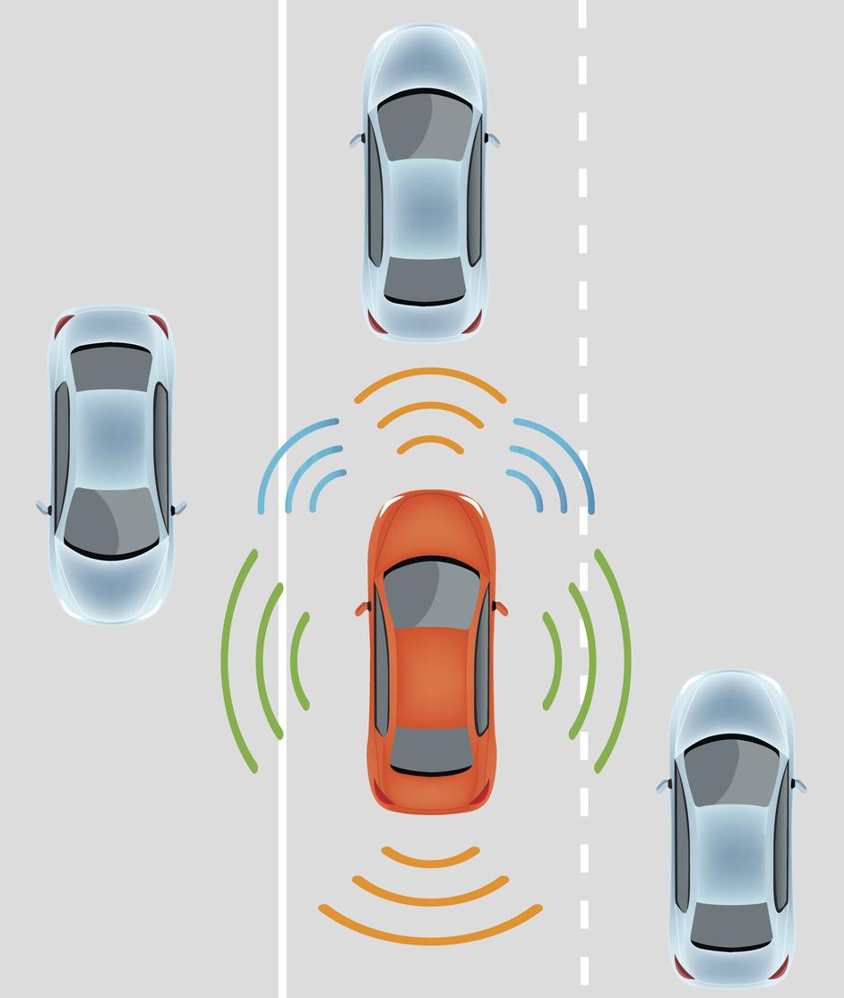 Autonomous driverless car