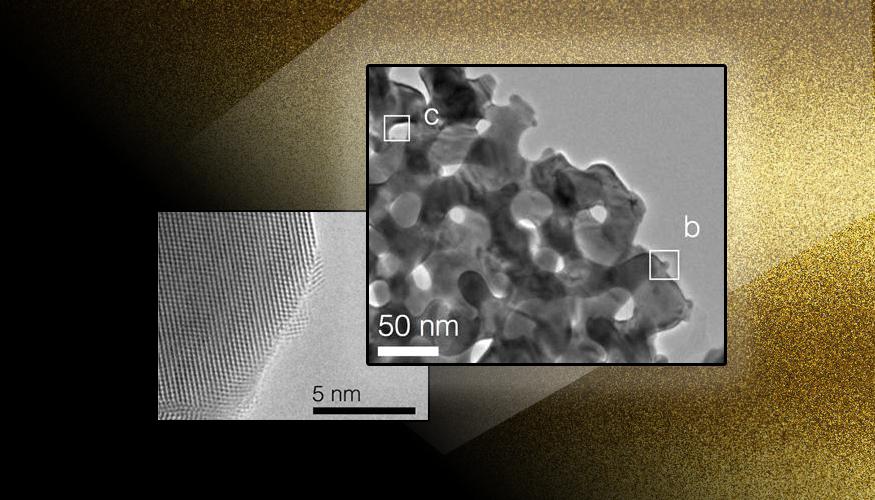 Nanoporous gold