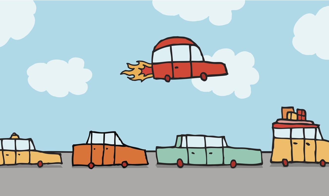 Moving Toward On Demand Autonomous Flying Cars Ecs