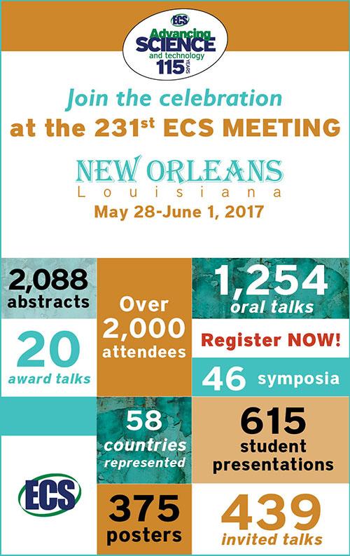 231st ECS Meeting info graphic