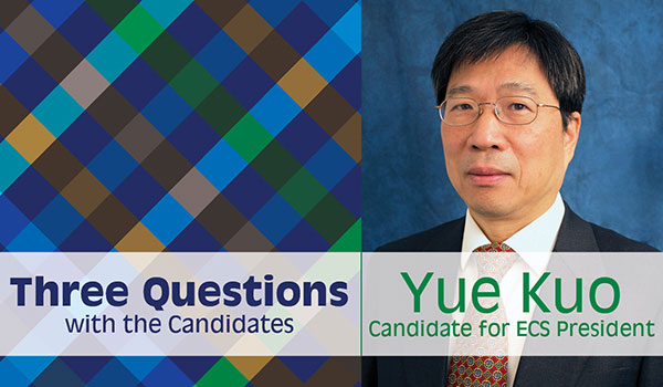 Three questions with the candidates: Yue Kuo