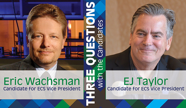Three Questions with the Candidates