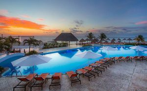 The Moon Palace in Cancun, Mexico