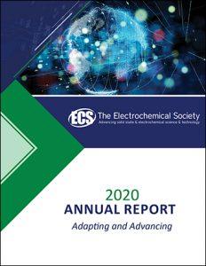 ECS 2020 Annual Report cover image